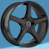 Image of INCUBUS RAVEN BLACK wheel