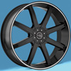 Image of INCUBUS EMPIRE BLACK SUV wheel