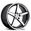 Image of ADVENTUS AVS-2 BLACK MACHINED wheel
