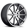 Image of ADVENTUS AVS-4 BLACK MACHINED wheel