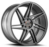 Image of BLAQUE DIAMOND BD ONE FULL MATTE GRAPHITE wheel