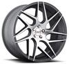Image of BLAQUE DIAMOND BD THREE GRAPHTIE MACHINED wheel
