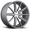 Image of BLAQUE DIAMOND BD NINE GRAPHITE MACHINED wheel