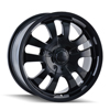 Image of DIP D10 AVENGER GLOSS BLACK  wheel