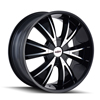 Image of DIP D38 VIBE BLACK wheel