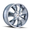 Image of DIP D38 VIBE CHROME wheel