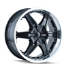 Image of DIP D39 WICKED BLACK wheel