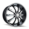 Image of DIP D66 SLACK GLOSS BLACK wheel