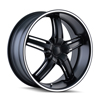 Image of DIP D68 AMBUSH BLACK wheel