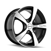 Image of TOUREN TR9 MACHINE BLACK wheel