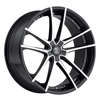 Image of 2 CRAVE No34 GLOSS BLACK MACHINE FACE wheel