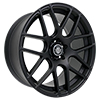 Image of CURVA CONCEPTS C7 MATTE BLACK  wheel