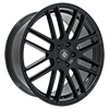 Image of CURVA CONCEPTS C16 BLACK  wheel