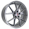 Image of CURVA CONCEPTS C42 SILVER wheel