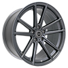 Image of CURVA CONCEPTS C44 GLOSS GUNMETAL  wheel