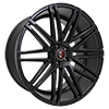 Image of CURVA CONCEPTS C48 BLACK  wheel