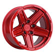 Image of BLACK RHINO RECON RED wheel